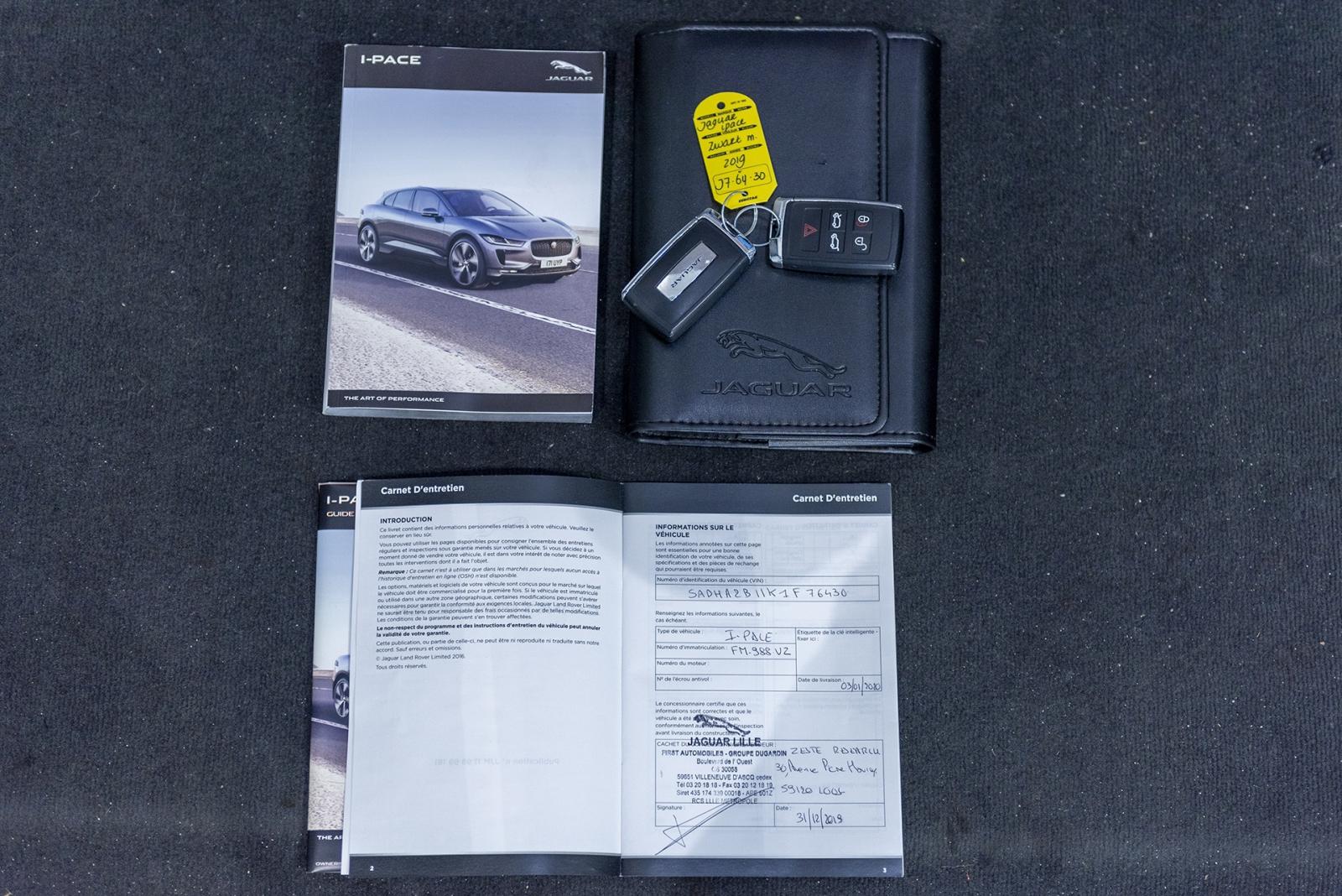 Jaguar I-PACE EV400 AWD 4% Bijtelling   €62940 EX BTW